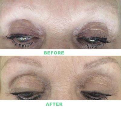 Eyebrows Tattoo Before and After Permanent Makeup Cape Town